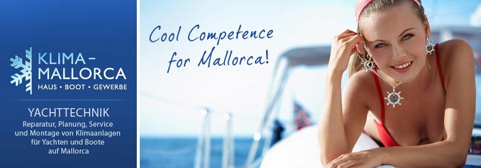 Klima Mallorca - Experte für Klimaanlagen und Klimatechnik auf Yachten und Booten
